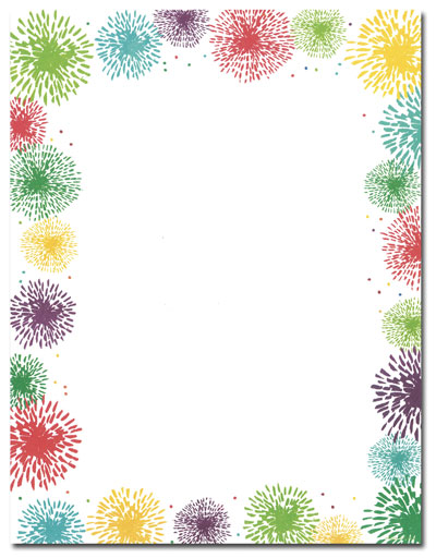 fireworks border clipart clipart suggest