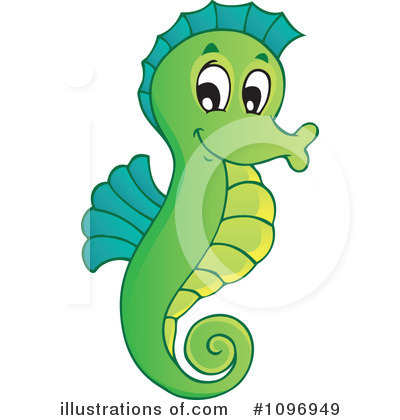 Gallery For   Animated Seahorse Clip Art