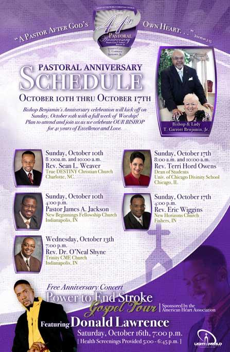 Pastor Anniversary Clipart - Clipart Kid