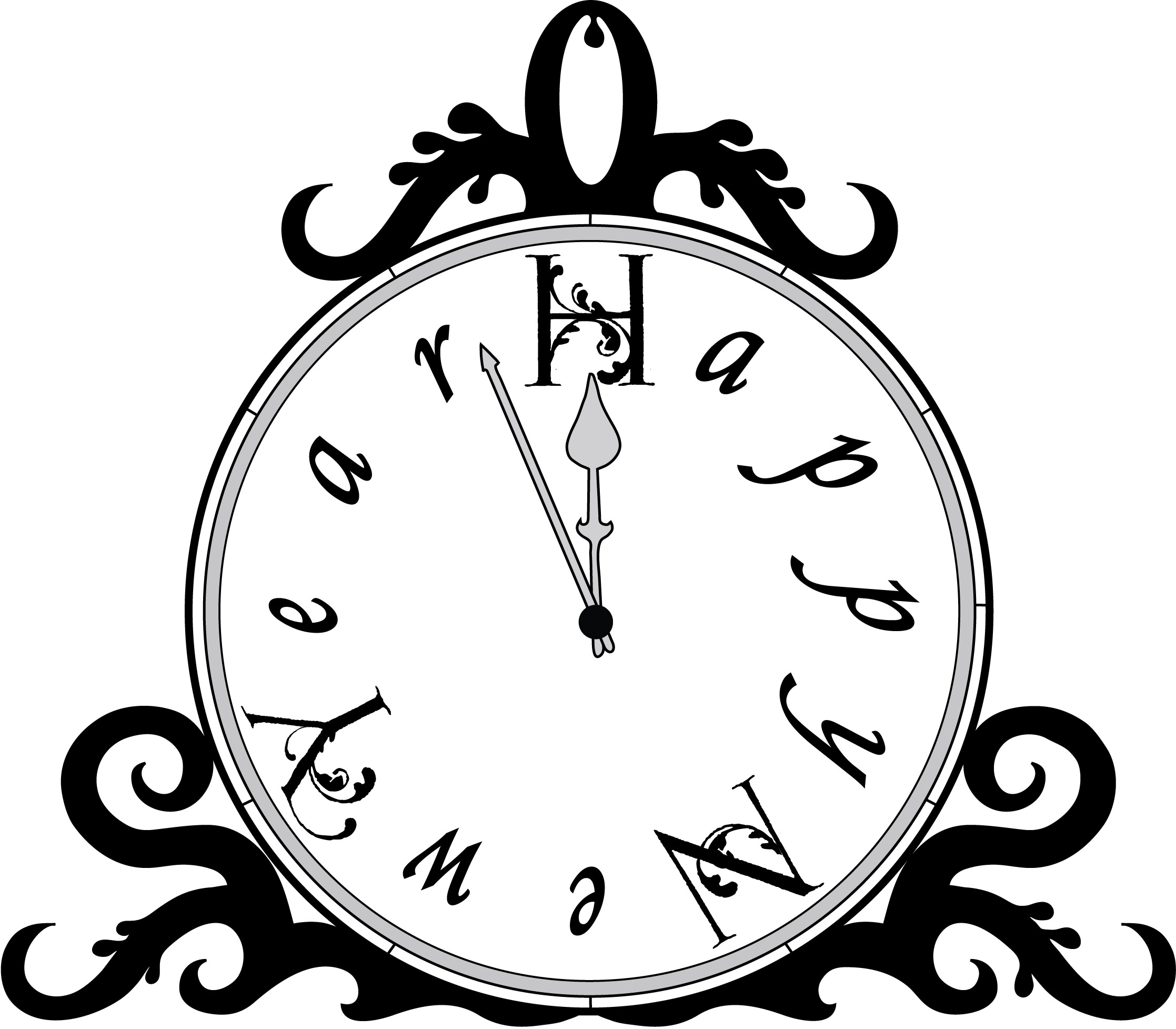 clock and champagne. new clipart free download clip art free clip ...