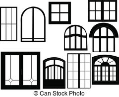 window clipart and stock illustrations 80019 window vector eps