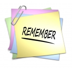 Clipart   Remember