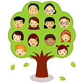 Family Stock Illustration Images  185 Multi Generation Family