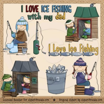 Home    Babies   Kids    Ice Fishing Fun Exclusive By Whimsy Primsy