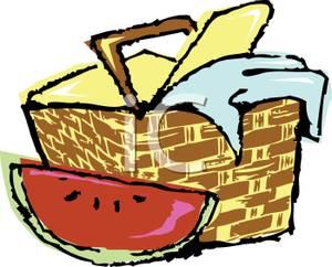 Clip Art Picnic Basket Clipart clip art picnic basket food clipart kid black and white panda free clipart