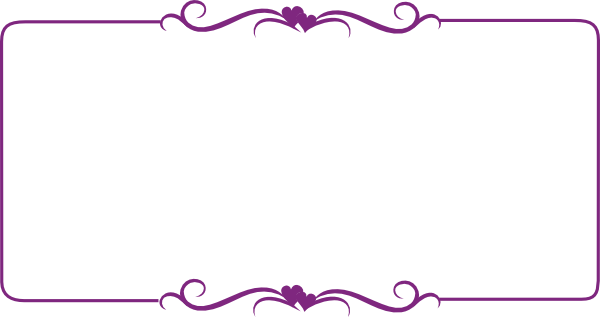 fancy purple frame clipart clipart suggest