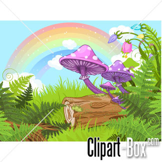 Related Fantasy Forest Cliparts