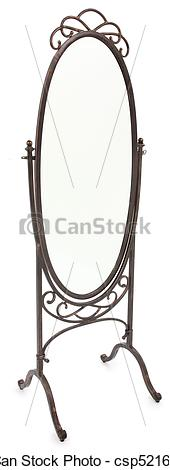 Standing Mirror Clipart Black And White Pictures Of Ornate Standing