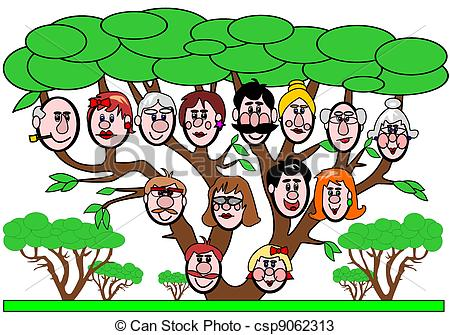 Vector   Family Tree   Stock Illustration Royalty Free Illustrations