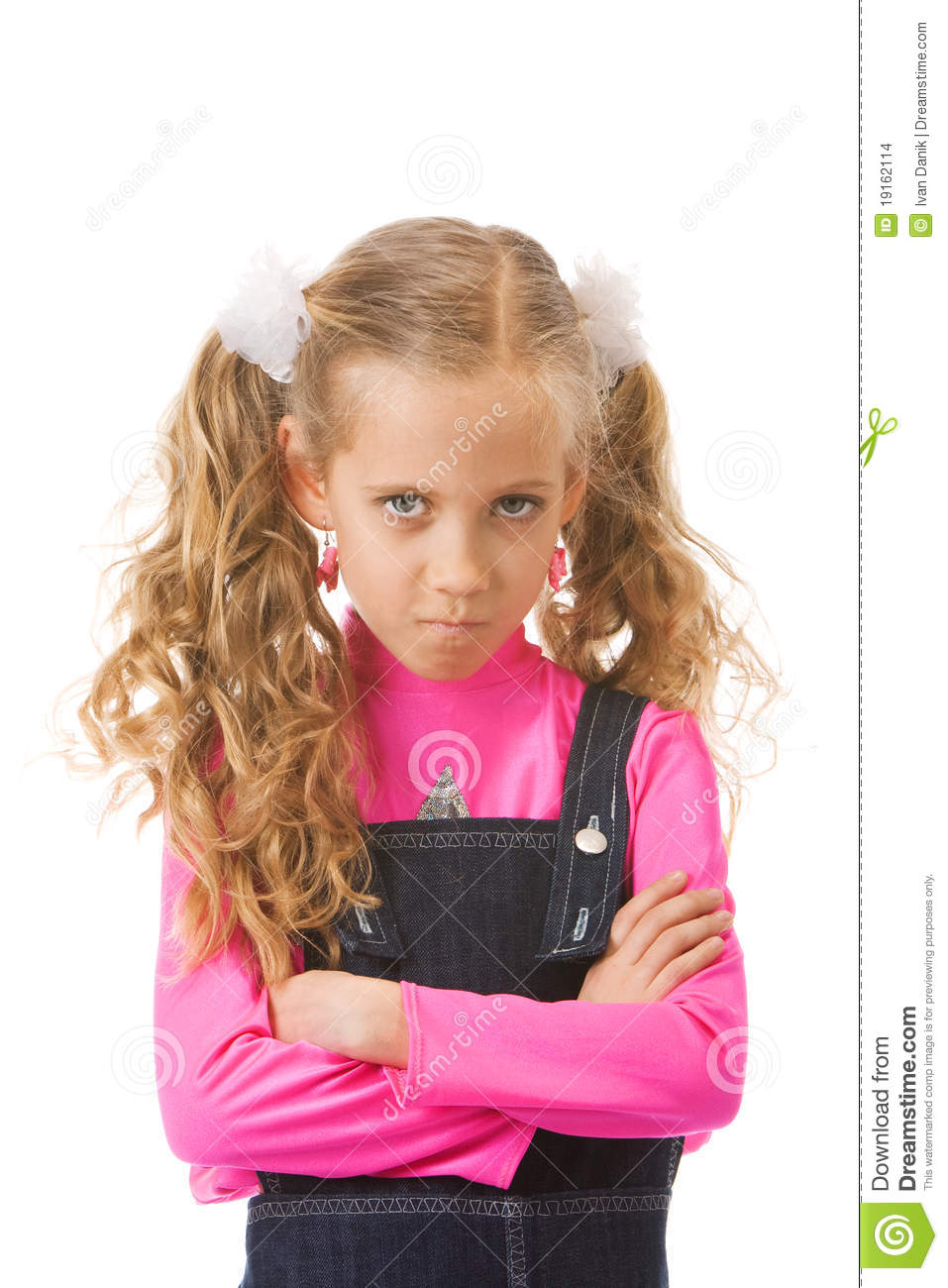 Young Girl Looking Upset Stock Images   Image  19162114