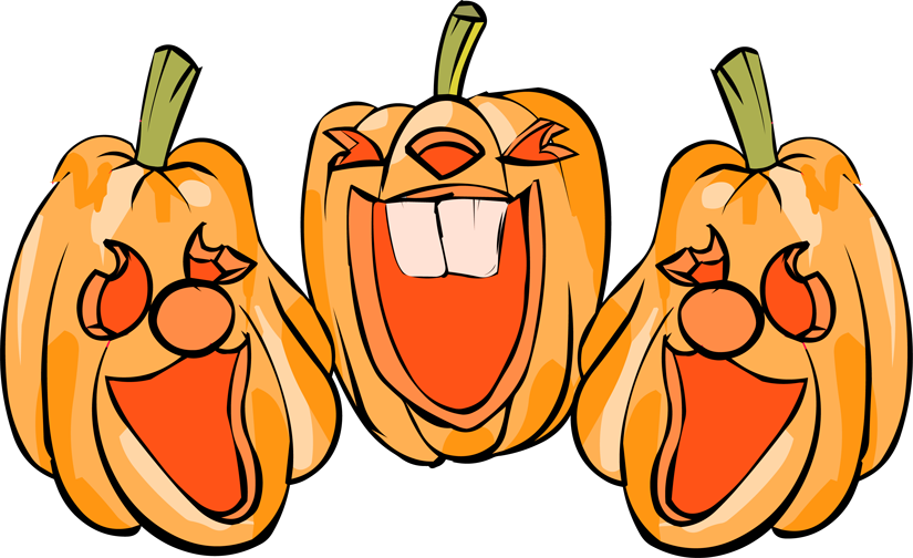 jack o lantern faces clip art - photo #19