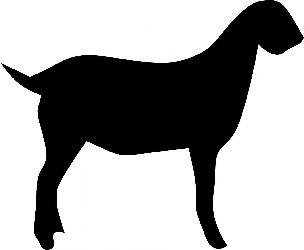Boer Goat Clipart - Clipart Suggest - photo#19