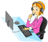 Call Center Agent Illustrations And Clipart  461 Call Center Agent