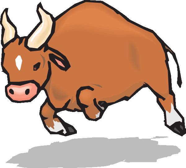 Clip Art Bull Clip Art clip art cartoon black bull clipart kid charging vector