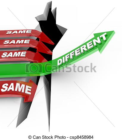 Same And Different Clipart - Clipart Kid