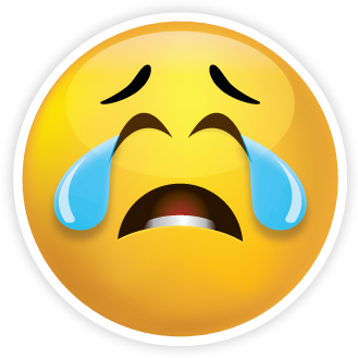 Emoji Sad Face Yesyou Read That Right - Clipart Kid
