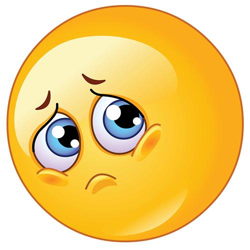 Sad Emoji Clipart - Clipart Kid