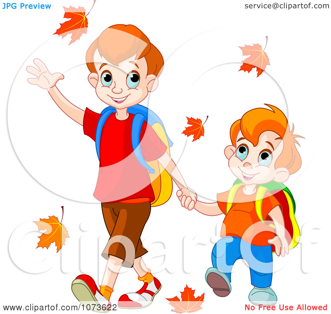 walking home from school clipart clipart kid