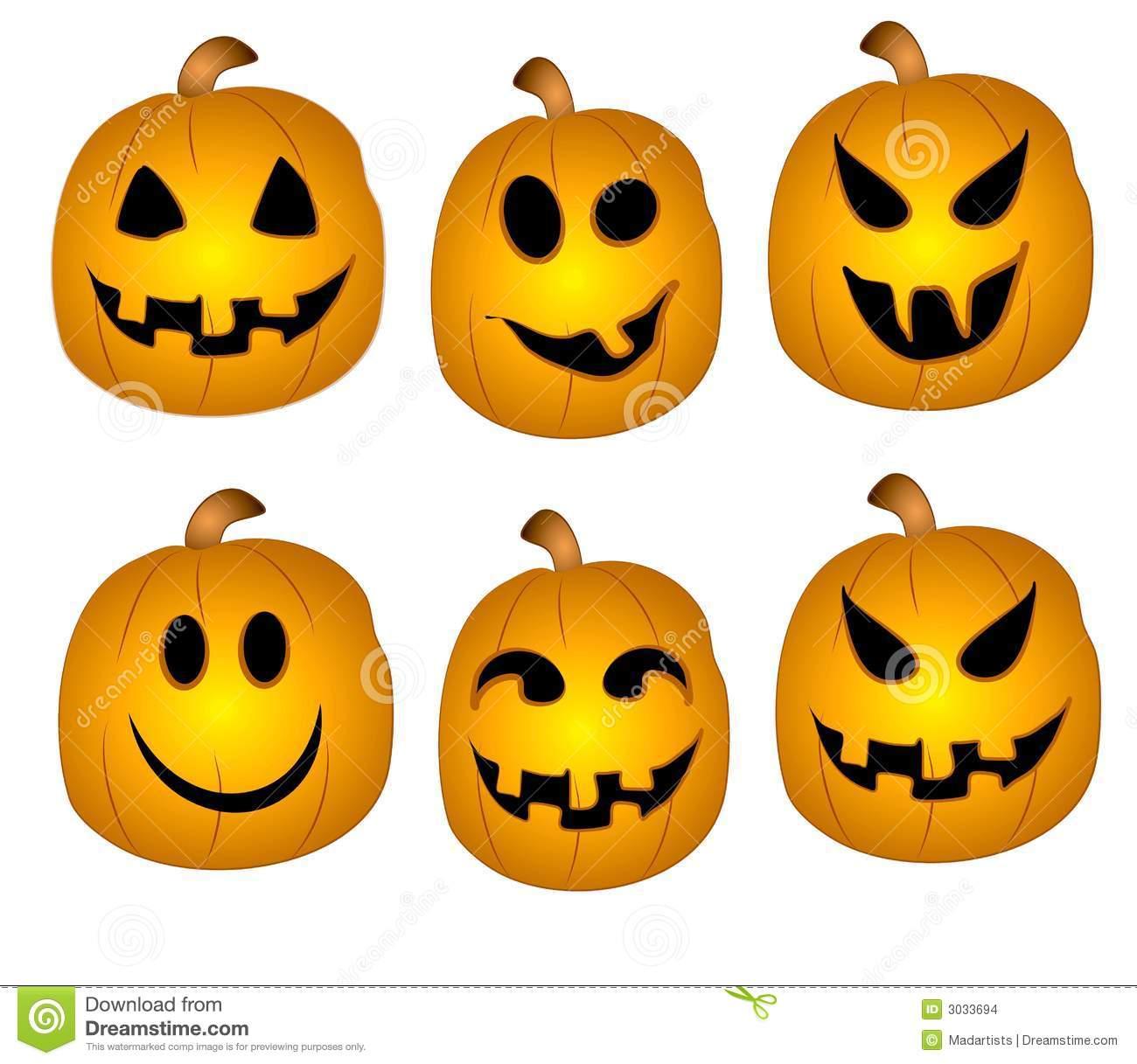 Cute Pumpkins Face Clipart Suggest