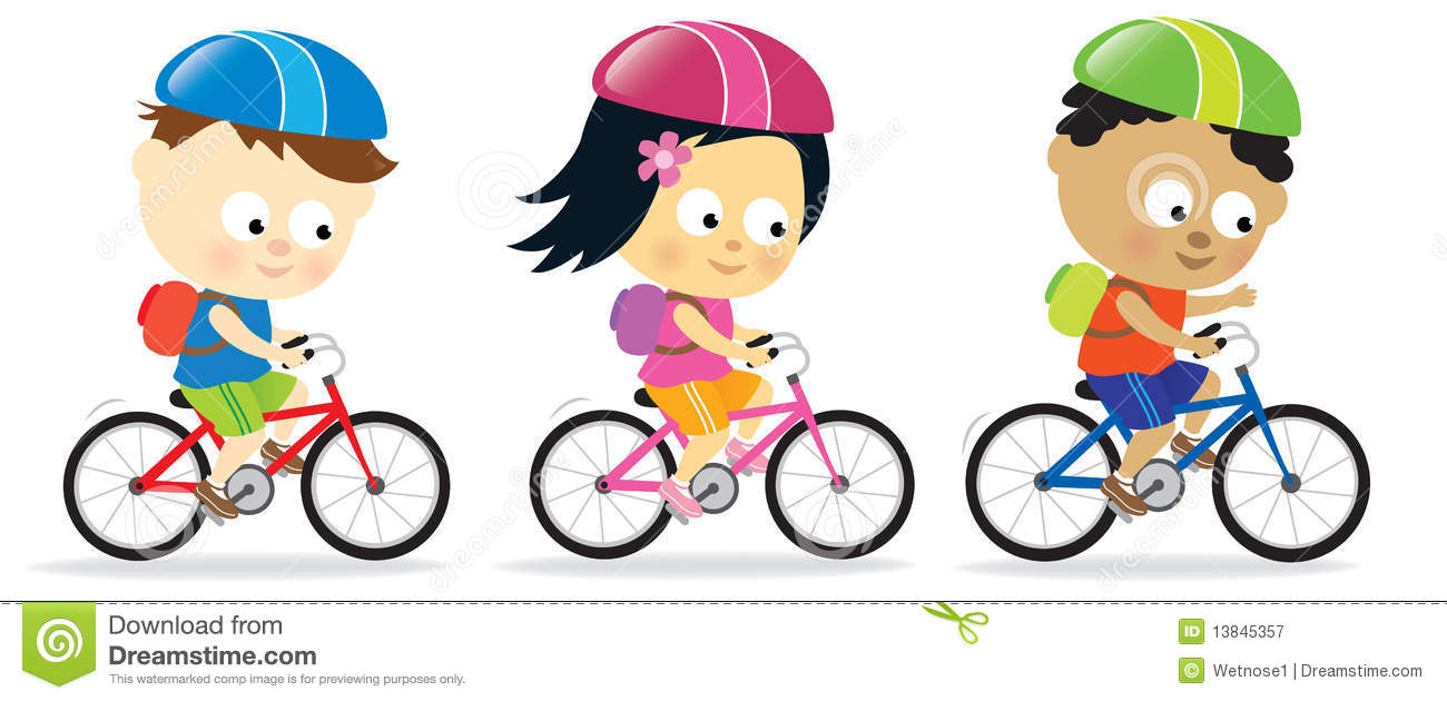 Boy Riding Bikes Clipart - Clipart Suggest