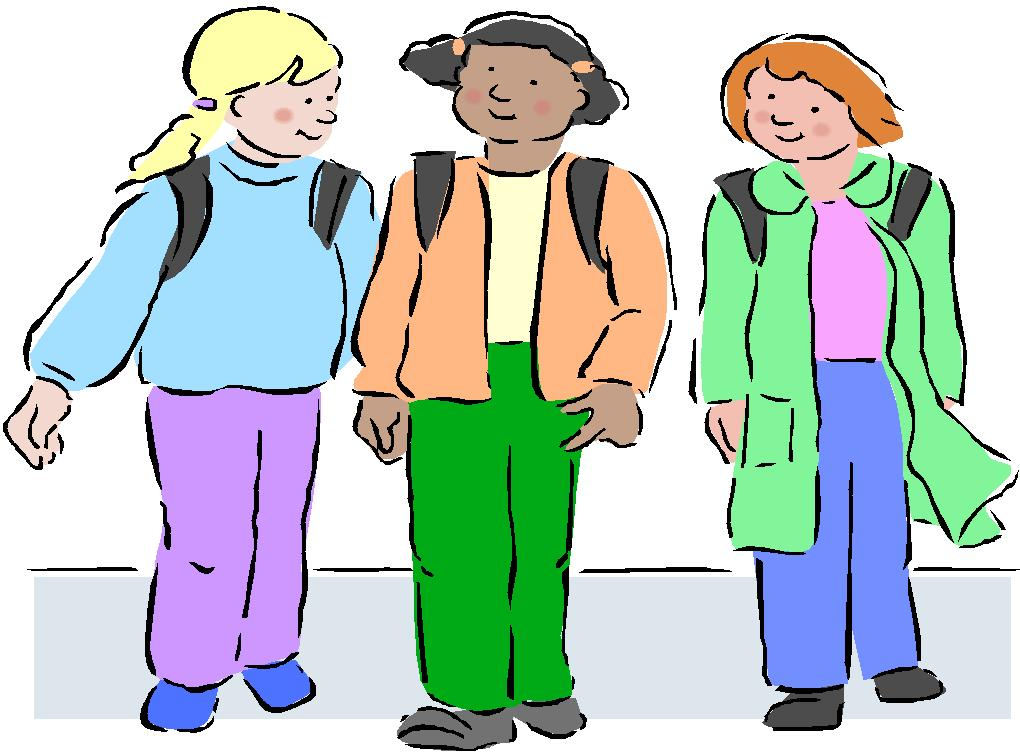 walking home from school clipart clipart suggest