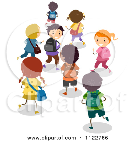 Gallery For > Student Walking Home Clip Art