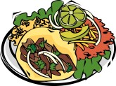 Mexican Taco Clipart