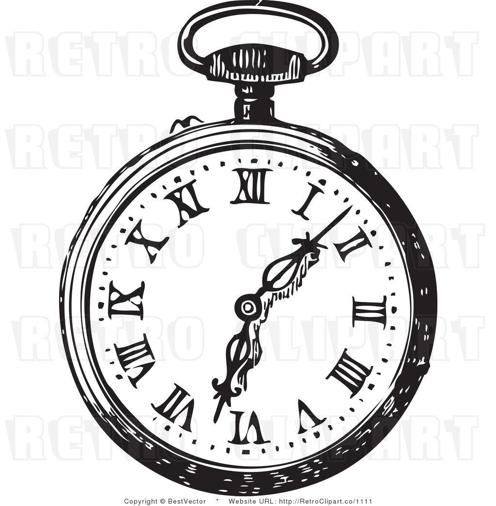 Pocket Watch Clipart - Clipart Suggest