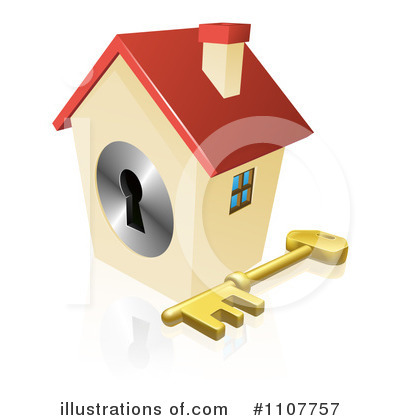 Royalty Free  Rf  House Clipart Illustration By Geo Images   Stock