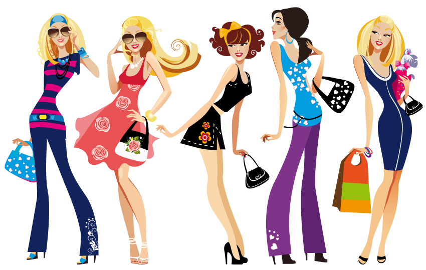 clipart women's clothing - photo #34