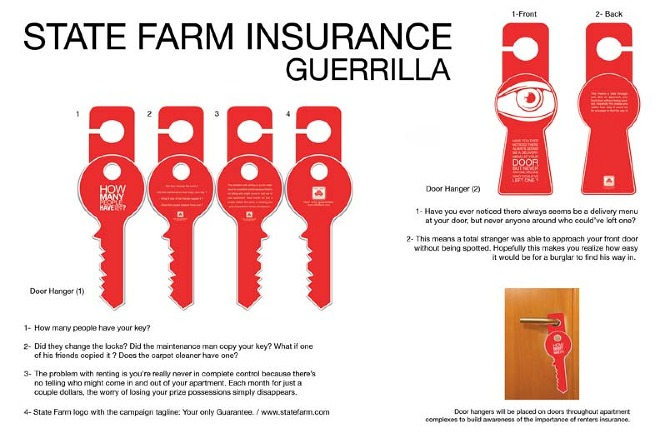 State Farm Renters Insurance Flyer
