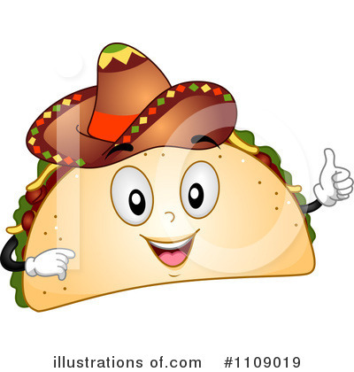 Taco 1109019 Illustration By Bnp Design Studio Clipart