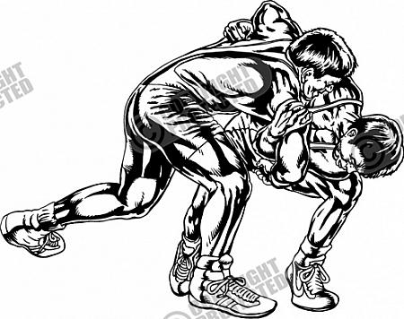 Pro Wrestling Clipart - Clipart Kid