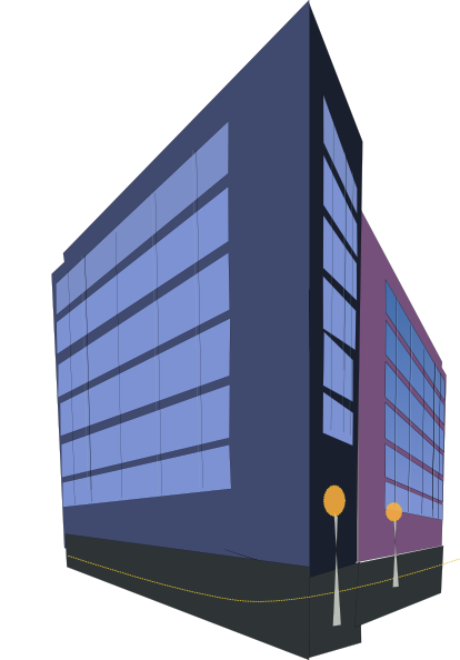 Commercial Building Clipart - Clipart Kid