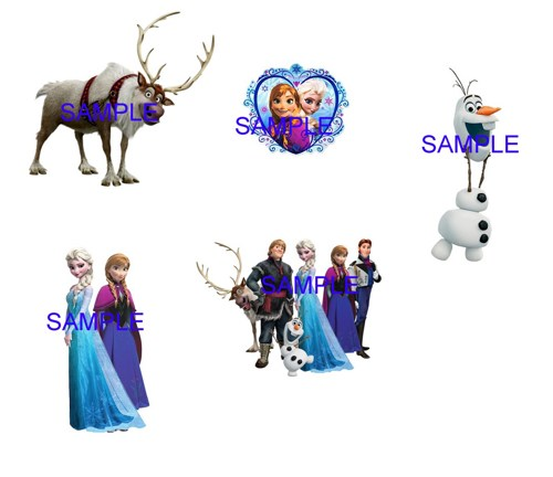 Disney Frozen Clip Art Disney Frozen Digital Clip Art