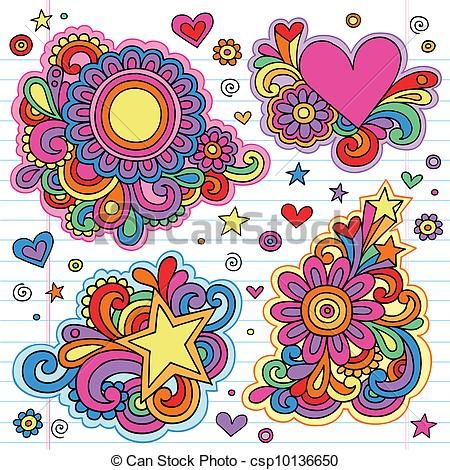 Groovy Vector Clipart Royalty Free  1313 Groovy Clip Art Vector