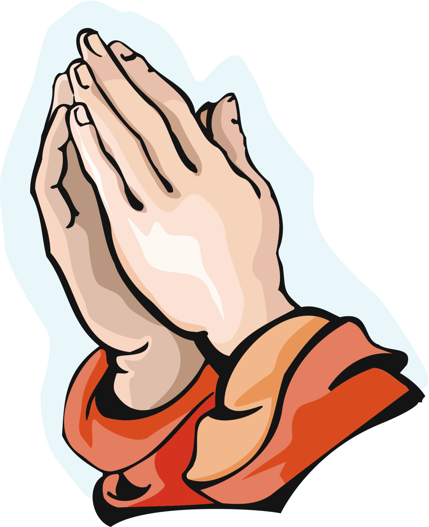 Prayer Praying Hands Clipart - Clipart Kid