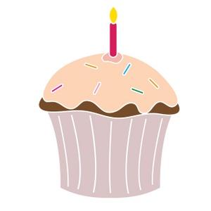 Clip Art Birthday Cupcake Clipart pink birthday cupcake clipart kid free clip art image art
