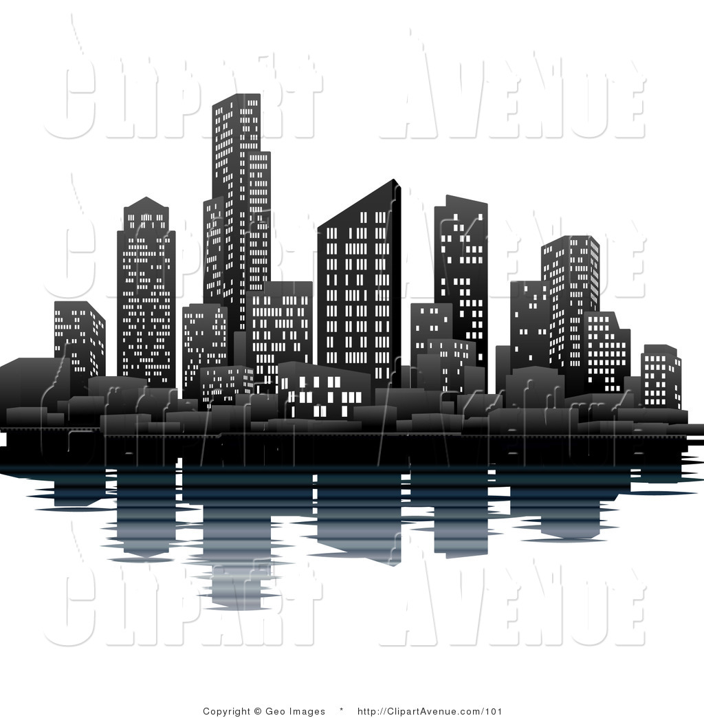 Skyline Buildings Clipart 16394 Hd Wallpapers