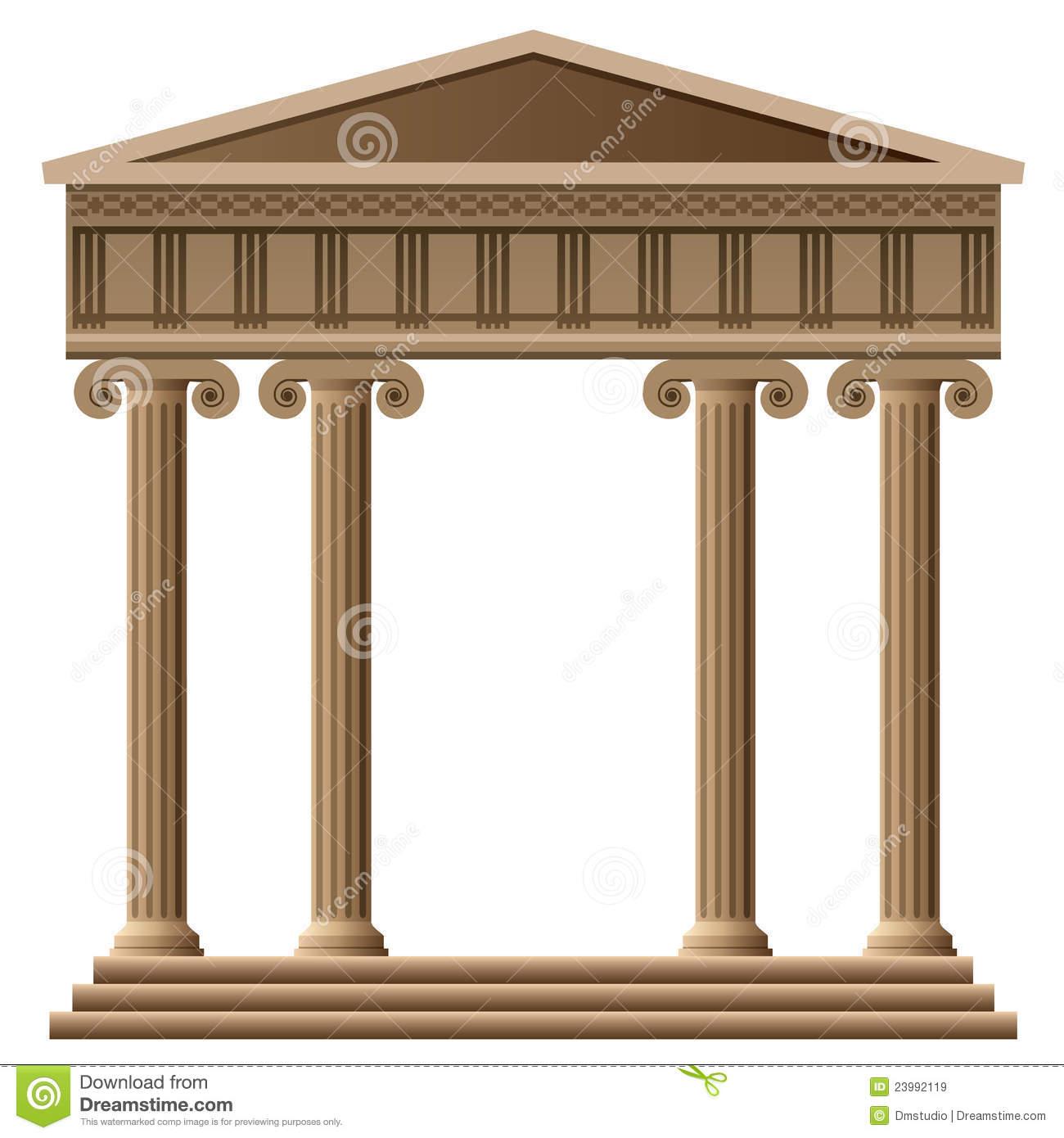 Greek Buildings Clipart - Clipart Suggest