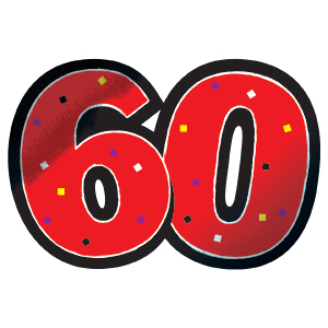 Viewing Gallery For 60th Birthday Clip Art
