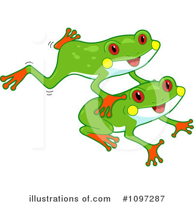 Baby Frog Clip Art Royalty Free  Rf  Frog Clipart