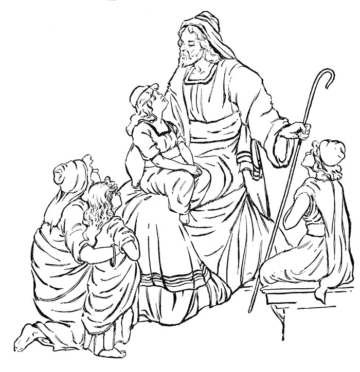 jesus coloring pages for preschoolers - preschool bible character clipart clipart suggest