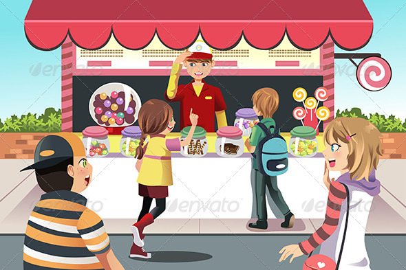 Children Clip Art Clipart Confectioner Consumer Customer