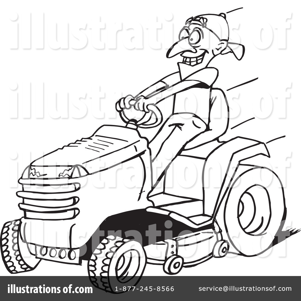Clip Art Lawn Mower Clip Art Black And White Riding Lawn Mower Clip