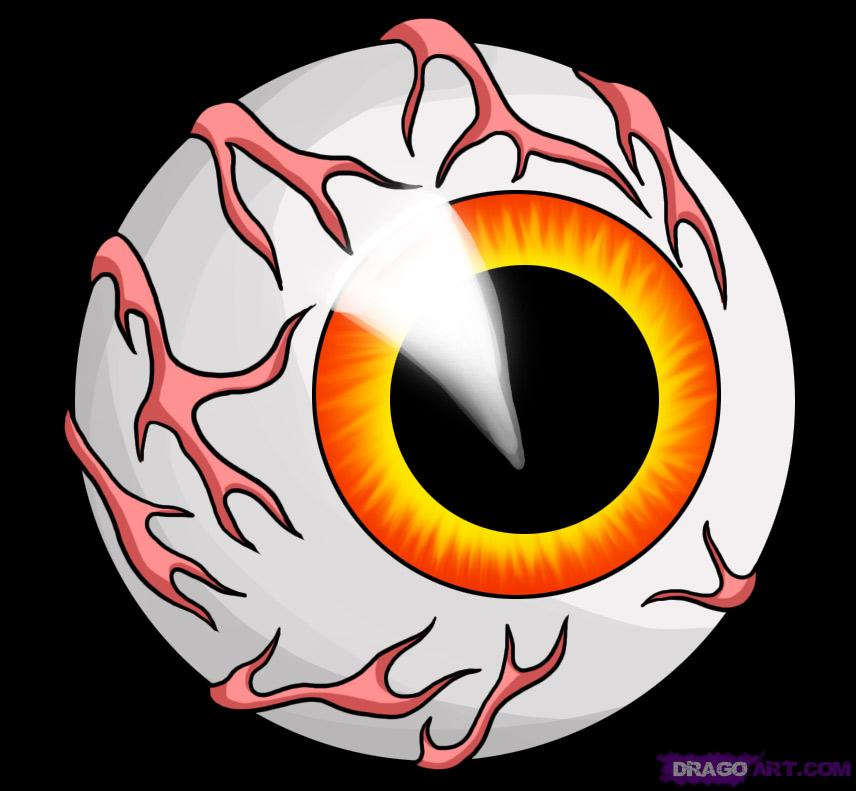 Eye Ball Drawing Clipart - Clipart Suggest