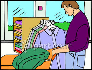 Clothing Shopping Clip Art