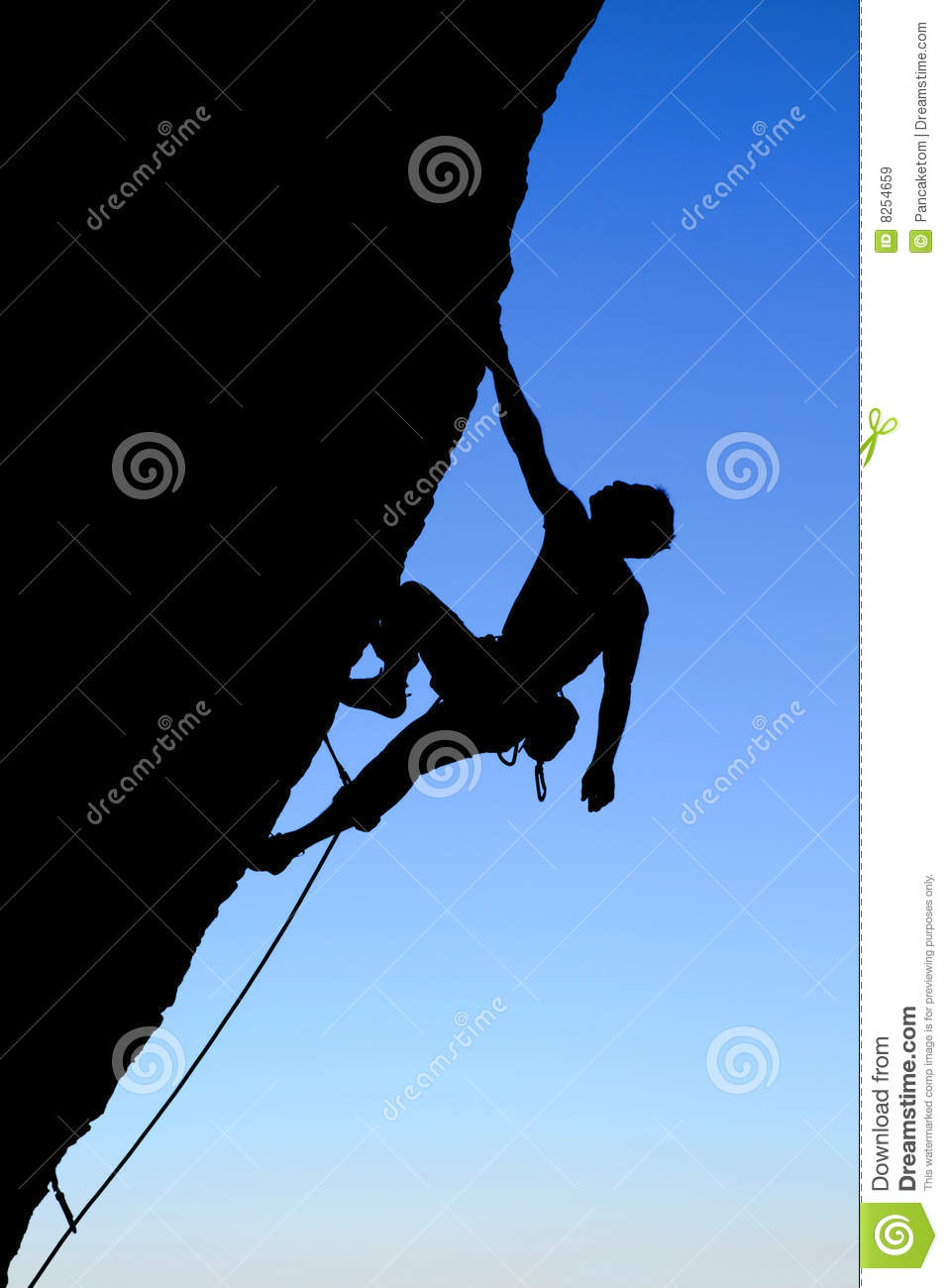 Female Mountain Climber Clipart Rock Climber Silhouette