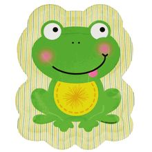 Frog Party Paper Plates   Birthday Ideas For Alice   Wes   Pinterest