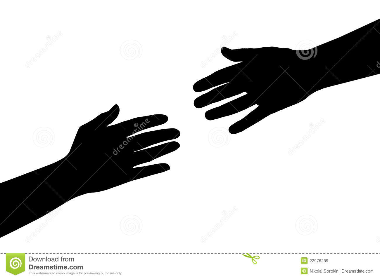 Helping Hands Royalty Free Stock Images   Image  22976289